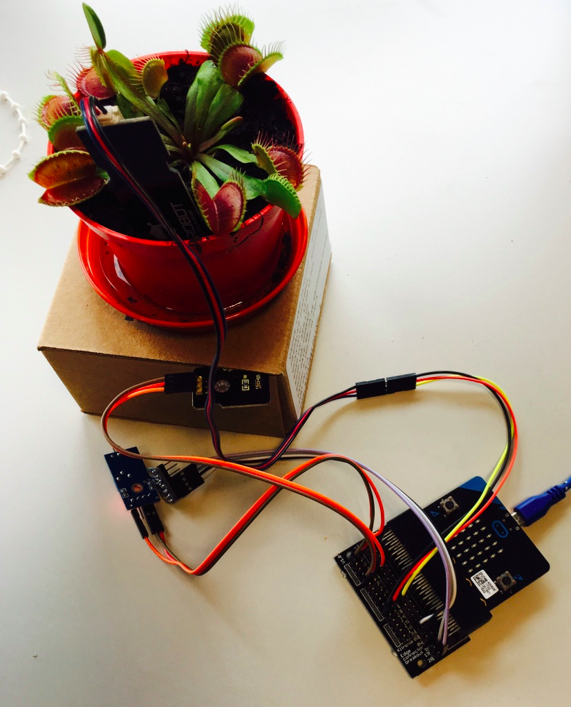 Microbit Reference Design Electronic Circuit Open Source Plant Monitor